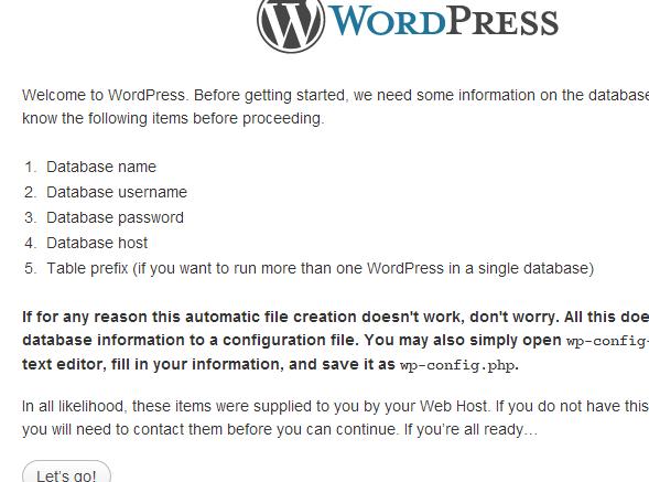 Hur installerar man WordPress 3