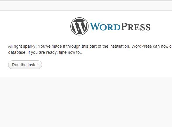 Hur installerar man WordPress 5