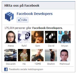 Hur skapar man en Facebook Likebox kopplad till din Facebooksida