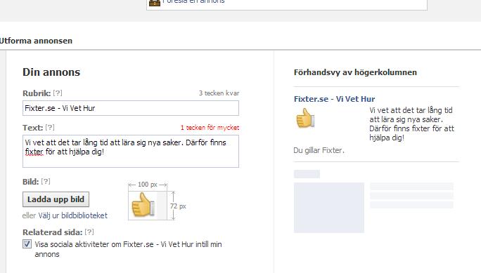 Hur annonserar man på Facebook 4