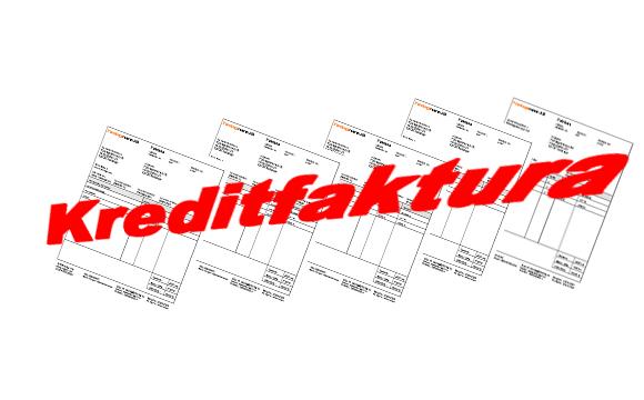 Hur bokför man en kreditfaktura