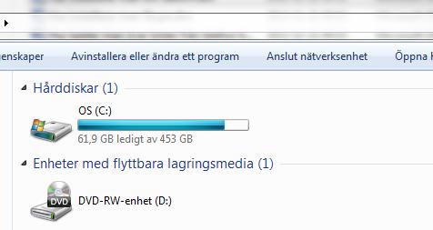 Hur installerar man om datorn