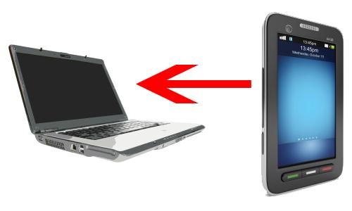 Hur laddar man över bilder från mobiltelefon till dator med USB-kabel