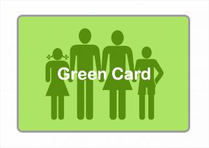Hur nära släkt måste man vara en amerikan för att få Green Card