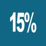 Hur många kr är 15% av 150 kr